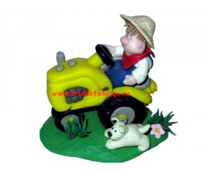 I Plow - Little Street Figurine