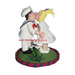 Kissing  - Figurine Little Street