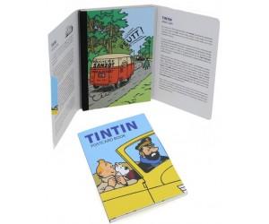Livret Cartes Postales Voitures Tintin