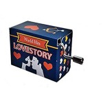 Love Story #262 Hand Crank Music Box