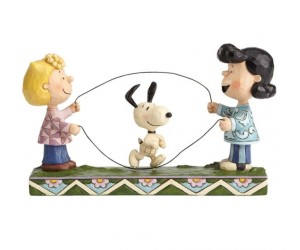 Lucy, Sally and Snoopy Jump Rope