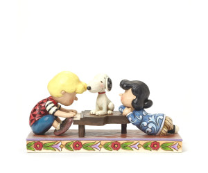 Lucy and Snoopy Playing Piano Jim Shore Peanuts