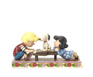 Lucy et Snoopy au Piano - Peanuts Jim Shore