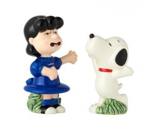 Lucy and Snoopy Salt and Pepper Shakers