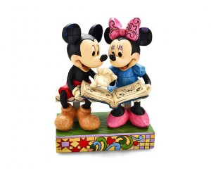 Mickey et Minnie Lecteurs Disney Tradition Jim Shore