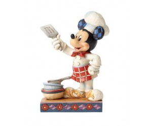 Mickey Cuisinier - Heartwood Jim Shore Disney Tradition