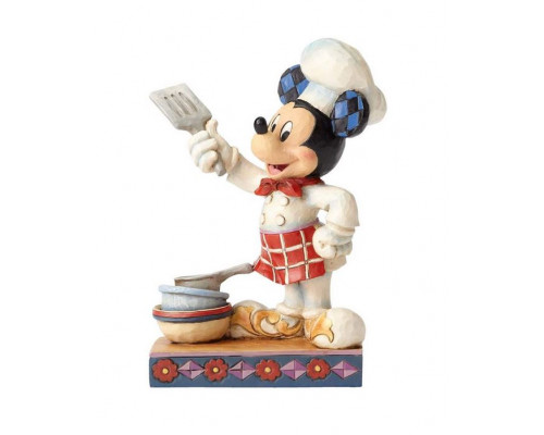 Mickey Cuisinier - Heartwood Jim Shore Disney Tradition