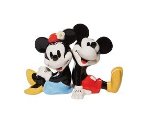 Mickey et Minnie Dos à Dos Salière et Poivrière