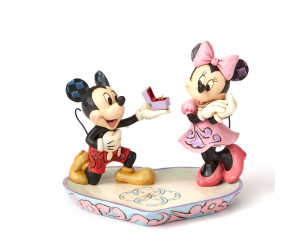 Mickey et Minnie Demande en Mariage - Disney Traditions Jim Shore