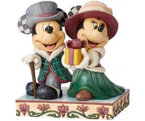 Mickey et Minnie Élégants Jim Shore Disney Tradition