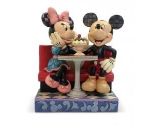 Mickey et Minnie au Casse-croûte Disney Tradition Jim Shore
