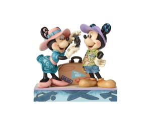 Mickey et Minnie Voyageurs Jim Shore Disney Tradition