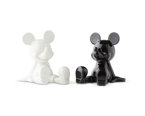 Mickey Noir et Blanc Salière et Poivrière