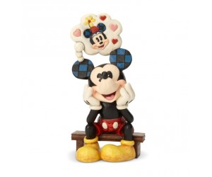 Mickey Pense à Minnie Disney Tradition Jim Shore