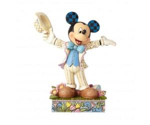 Mickey au Printemps Disney Tradition Jim Shore