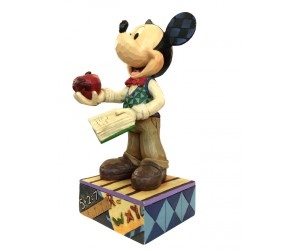 Mickey Professeur - Heartwood Jim Shore Disney Tradition