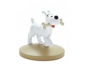 Milou avec Os Figurine Résine Tintin