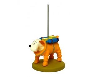 Milou Cosmonaute - Figurine Tintin en Résine