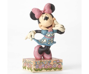 Minnie Appelle-moi Jim Shore Disney Tradition