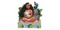 Moana et Pua Disney Tradition Jim Shore