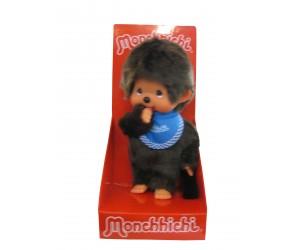 Boy Blue Bib Monchhichi