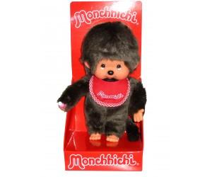 Boy with Red Bib Monchhichi