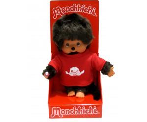 Garçon T-Shirt Rouge Monchhichi
