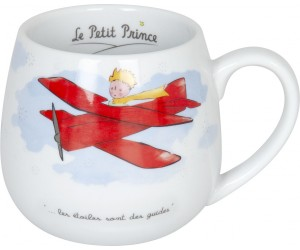 Mug Ronde Le Petit Prince en Avion