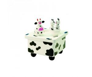 Cows Music Box Skating Rink