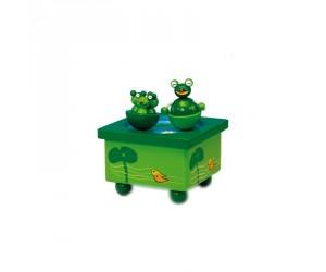 Frogs Music Box Skating Rink