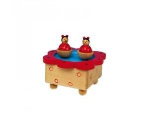 Ladybugs Music Box Skating Rink