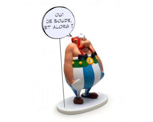 Statuette Obélix Bulle Oui Je Boude et Alors ?
