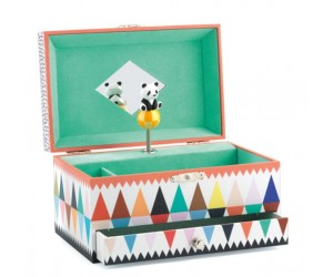 The Panda's Song Musical Jewelry Box