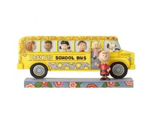 Peanuts School Bus Jim Shore
