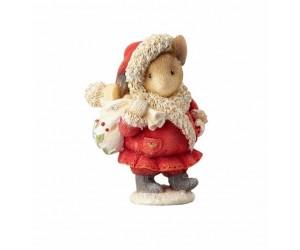 Lutin du Père Noël Souris Tails With Heart