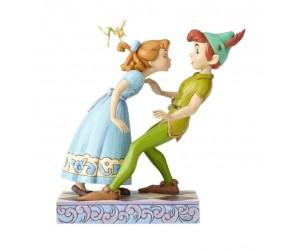 Wendy, Peter Pan et Fée Clochette Disney Tradition Jim Shore