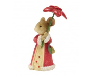 Parapluie Poinsettia Souris Tails With Heart