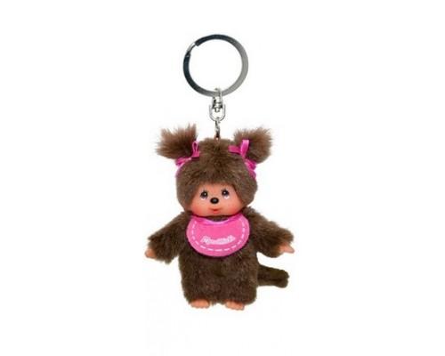 Key Ring Pink Girl Monchhichi