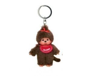 Key Ring Red Girl Monchhichi