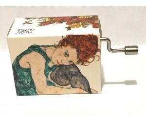 For Elise - Egon Schiele #286 Handcrank Music Box