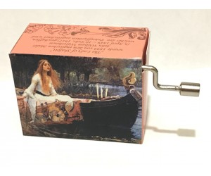 For Elise #283 Handcrank Music Box