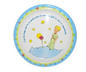 Assiette Citation  - Le Petit Prince de St-Exupéry