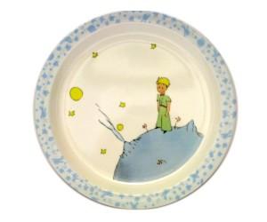 Assiette Bleue - Le Petit Prince de St-Exupéry