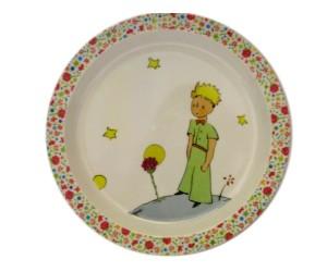 Assiette La Rose - Le Petit Prince de St-Exupéry