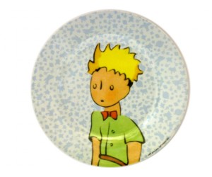 Dessert Blue Plate - St-Exupery The Little Prince