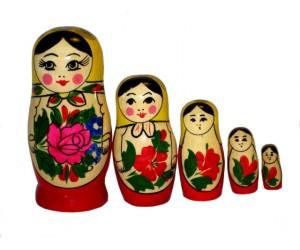154 - Matriochka Poupees Russes Classique