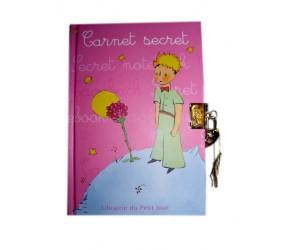 Carnet Intime Rose  - Le Petit Prince de St-Exupéry