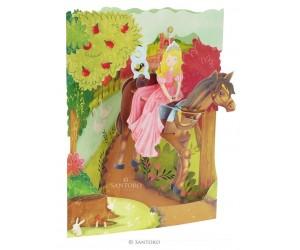 Princess on a Horse SC170