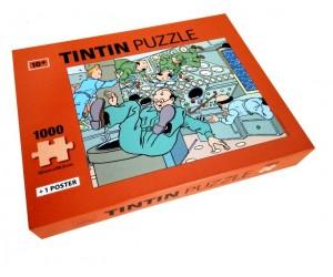 Puzzle Apesanteur Les Aventures de Tintin