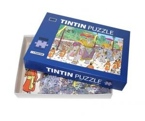 Puzzle Altesse et Éléphant - Les Aventures de Tintin